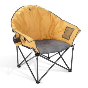 Oversized Heavy-Duty Club Folding Camping Chair