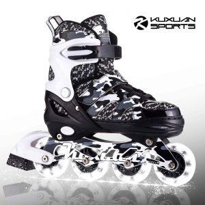 Kuxuan Adjustable Inline Skates for Kids