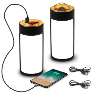 Rechargeable Camping Lights with 400LM 5 Light Modes Water-Resistant