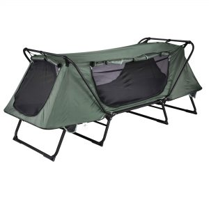 1-Person Portable Waterproof Camping Cot Outdoor