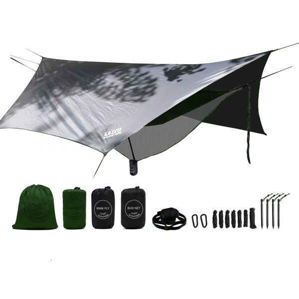 Camping Hammock Set All-Inclusive for Backpacking, Camping, Hiking