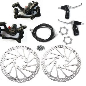Motorized Bicycle Front and Back Disk Brake Kit