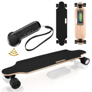 Electric Skateboard Youth Electric Longboard with Wireless Remote Control