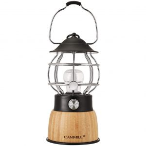 LED Camping Lantern Rechargeable Lanterns Vintage Style