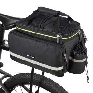 West Biking Bike Rear Pannier Bag Waterproof