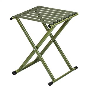 Folding Stool Outdoor Portable Chair Hold up to 600 lbs for Walking Hiking Fishing