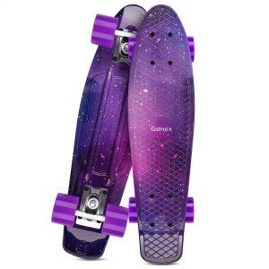 Gonex 22 Inch Skateboard for Girls Boys Kids Beginners