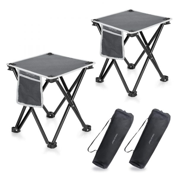 400 LBS Portable Folding Stool for Outdoor