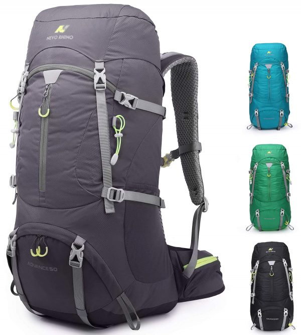 Hiking Camping Backpack 50L for Trekking, Travel