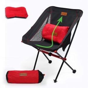 300 lbs Lightweight Folding Backpacking Camping Chair