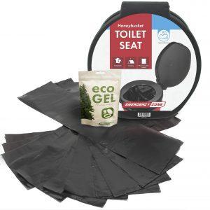 Emergency Zone Eco Gel Sanitation Set