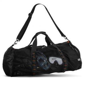 Large Mesh Duffle Bag for Scuba Dive or Snorkel Equipment