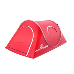 Water Resistant Barrel Style Tent for Camping With Rain Fly And Carry Bag