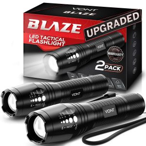 Waterproof LED Tactical Flashlight for Camping