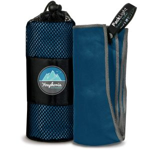 Microfiber Camping Towel Fast Drying Lightweight