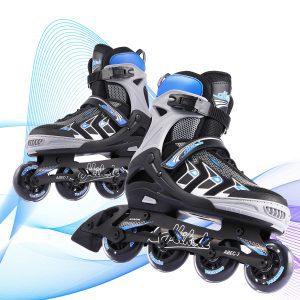 Hikole Adjustable Inline Skates for Adults