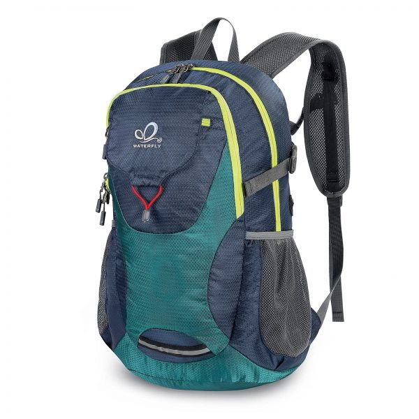 Lightweight Water Resistant Bag with Adjustable Chest Strap