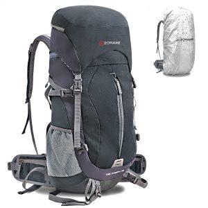 ZOMAKE 50L Internal Frame Hiking Backpack