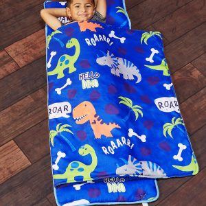 Toddler Nap Mat with Removable Pillow