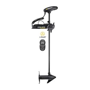 Freshwater Electric-Steer Bow-Mount Trolling Motor with Digital
