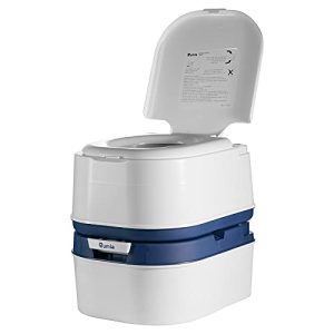 Camping Toilet for Car Boat with 6.3 Gallon Waste Water Tank