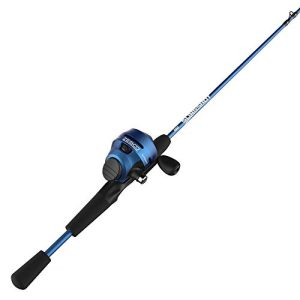 Right-Hand Spincast Reel and Fishing Rod Combo
