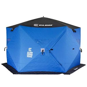 6 Person 11.5 Foot Lightweight Portable Pop Up Ice Fishing