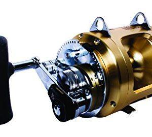 Wide Long Range Spool 2 Speed Offshore Multiplier Seafishing Reel