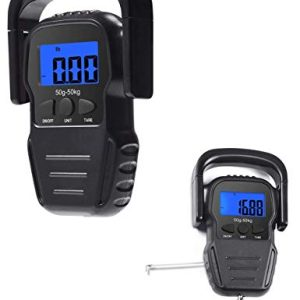 Home and Outdoor Digital Hanging Scale with Measuring Tape