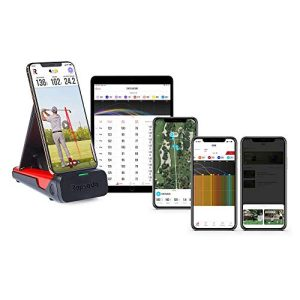 Mobile Launch Monitor for Golf Indoor and Outdoor Use