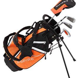 Aspire Golf Junior Plus Complete Golf Club Set