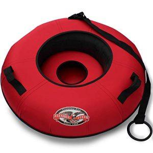Hard Plastic Bottom Inflatable Adult Sled