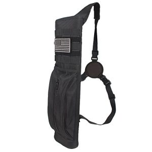 Heavy Duty Back Arrow Quiver with Molle System Shoulder