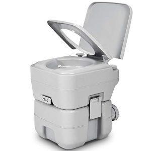 YITAHOME 5.3 Gallon Portable Travel Toilet RV Potty