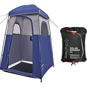 Tent Privacy Shelter Tent with Solar Shower Bag
