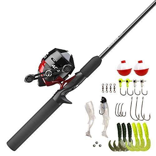 Quickset Anti-Reverse Fish Reel and Fishing Rod Combo