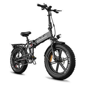 50Mile Folding Electric Bike Adults Fast Charge