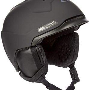Matte Black Adult Ski Snowboarding Helmet