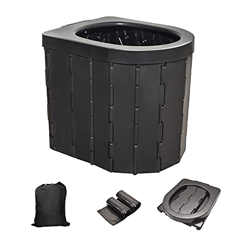 Portable Toilet Camping Toilet for Car/Traffic jam/Boat/Hiking