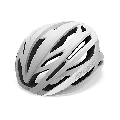 White/Silver Adult Road Bike Helmet