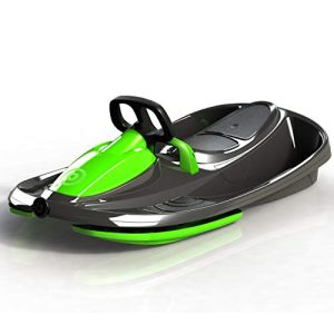 2-Person Racing Style Bobsled with Steering Wheel
