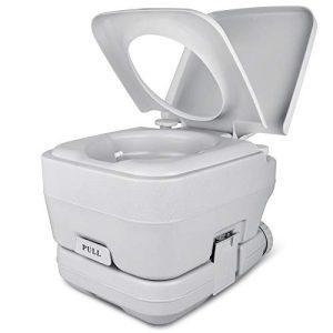 Portable Travel Toilet RV Double Outlet Water Spout