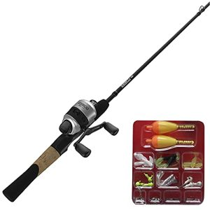 Spincast Reel and Fishing Rod Combo
