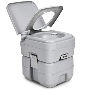 amping, Boating, Hiking Portable Toilet Travel RV Potty