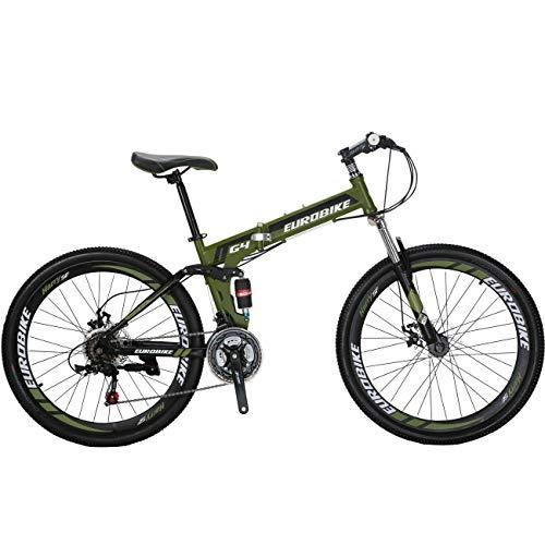 Mountain Bike Folding Bicycle 21 Speed