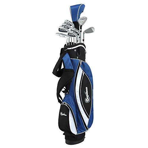 Golf Mens Power V3 Club Set and Stand Bag
