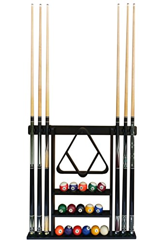 Premium Billiard Pool Cue Stick Holder