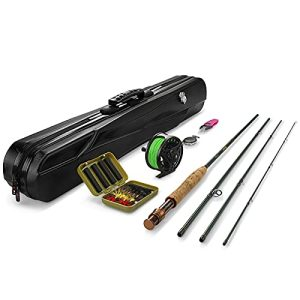 Fly Rod and Reel Combo with Portable Lightweight
