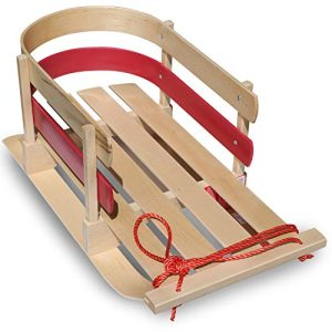 Flexible Flyer Baby Pull Sled. Wood Toddler