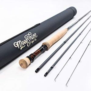 Fly Fishing Rod with Carrying Case and Extra Rod Tip Section